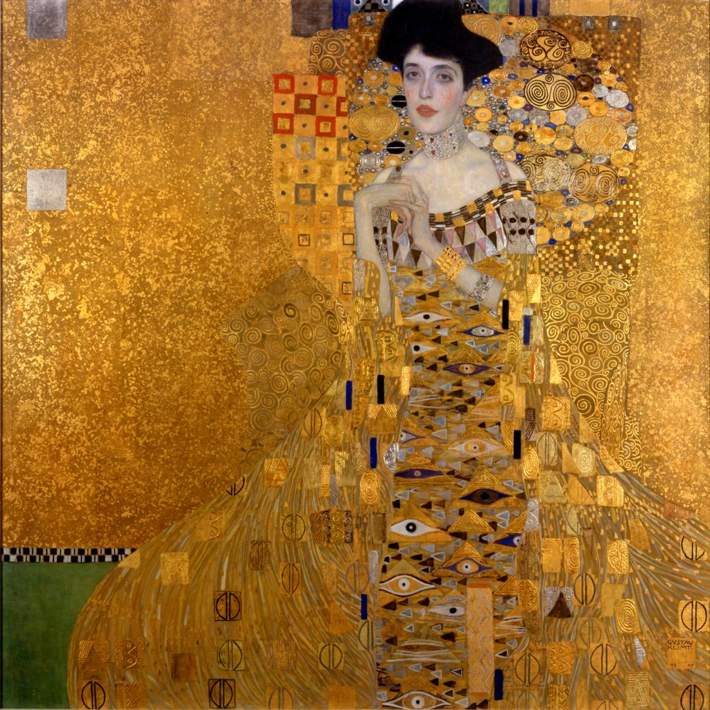 cuadro Adele Bloc Baucher de Klimt