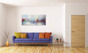 cuadros abstractos modernos comedor