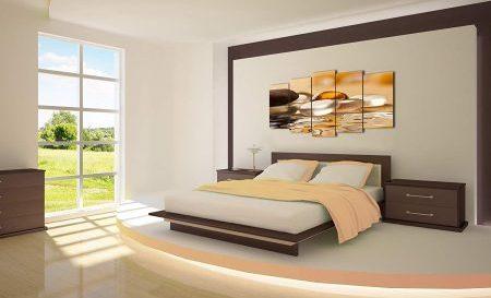 cuadros abstractos modernos habitacion