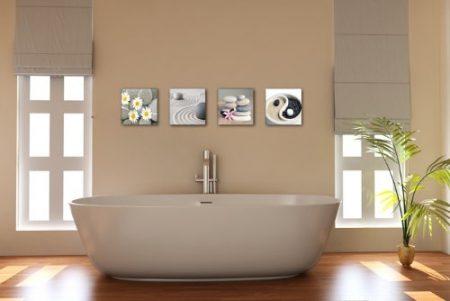 cuadros para baños